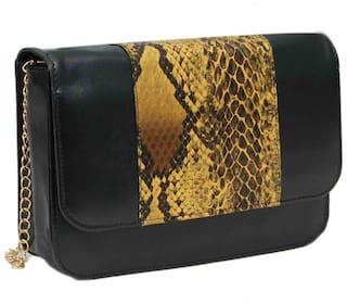 Borse M12 Black tiger Print Sling Bag