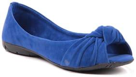 Sindhi Footwear Women Blue Bellies