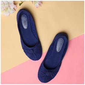 Sindhi Footwear Blue Bellies