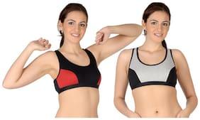 Selfcare Set Of 2 Sports Bra (Size-XS)