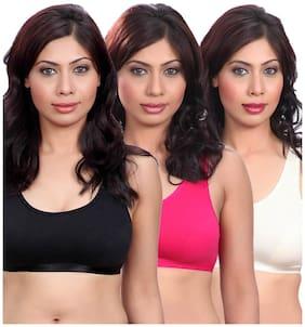 Selfcare Set Of 3 Sports Bra (Size-XS)
