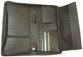 Essart Brown Travel Document Holder