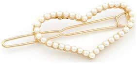 Crunchy Fashion Heart Hair pin