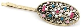 Crunchy Fashion Multicolor Hair Pin