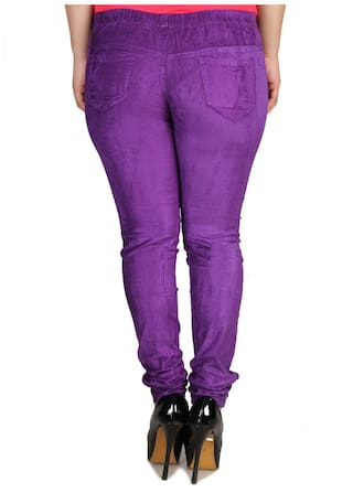 Size Slim Lycra Cult 28 Corduroy Jegging Women's Fit Fashion 50pwAqU