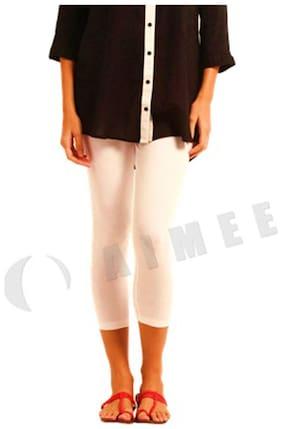 Women Cotton Solid Tights