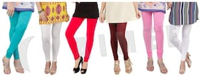 Women Lycra Salwar ,Pack Of 6