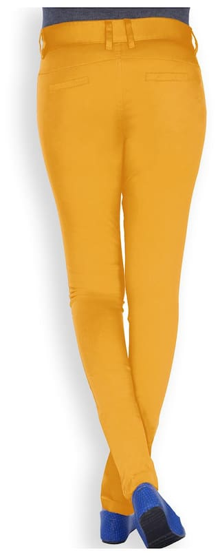 Size 28 Uber Stretch Mustard Urban Pants 8OOwXIP