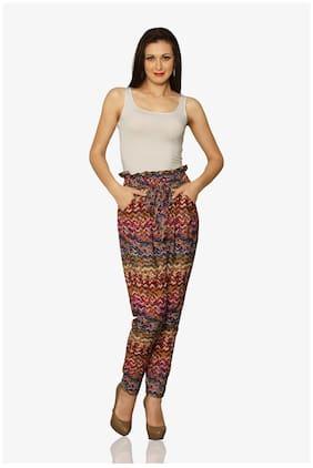Miss Chase Women Printed Pants - Multi