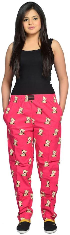 Flamboyant Pink Regular Pajama