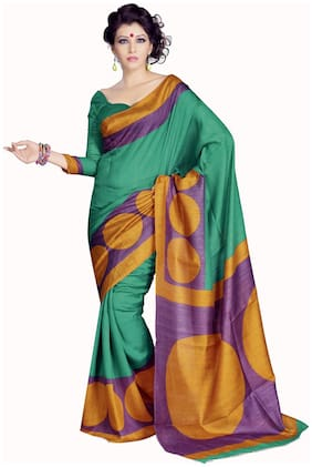 Sunaina Green Saree