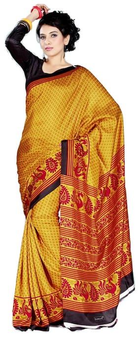 Silk Tussar Saree ,Pack Of 1
