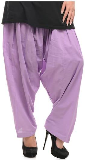 Sritika Light Purple Women's Salwar (Size-S)
