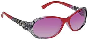 Hawaishop Women Oval Sunglasses