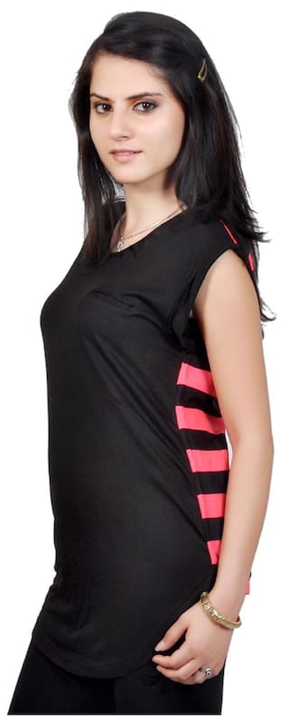 And Concepts Lycra Top Cotton Black 36 Size Pink O4LaTCZ