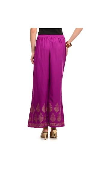 Palazzo S Lavennder Pants Purple Size vIqTa5wq