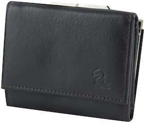 Kara Women Black Leather Wallet