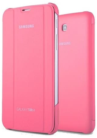 YGS Book Case For Samsung Galaxy Tab 3 Lite SM-T110 (Pink)