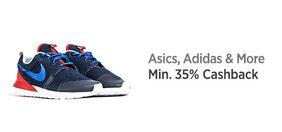 Sports shoes Min. 35% CB