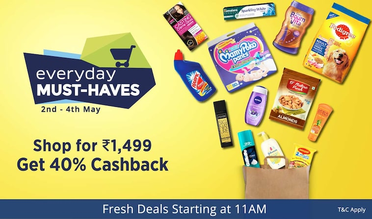 Everyday Must Haves | Get 40% Cashback