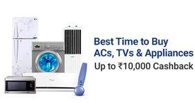 Appliances | Upto Rs 10000 CB
