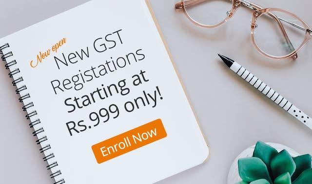 New GST Registration