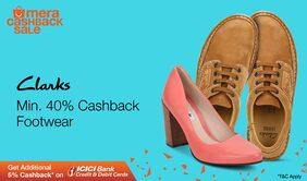 cashback on Women's Footwears