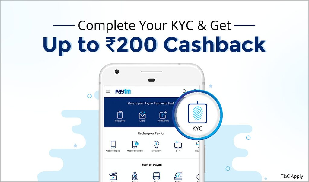 100% Cashback on mobile Recharge