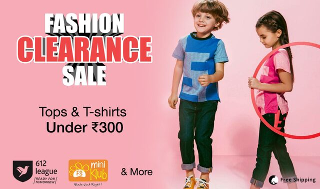 Tops and tees under 300