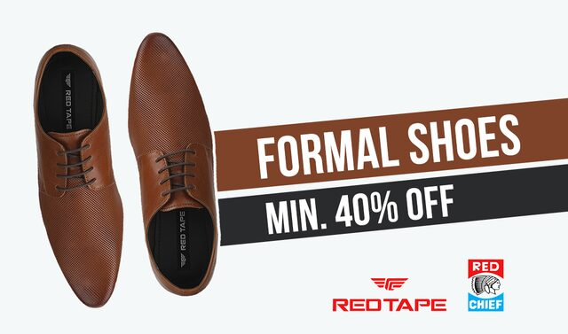 Min. 40% OffRed Chief, Red Tape