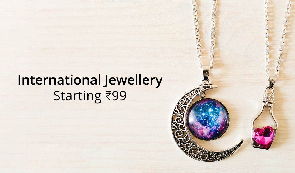 International Jewelry Starting at 99