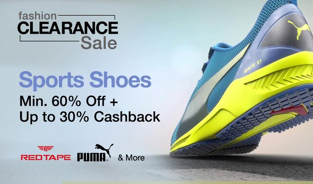 Sports Shoes | Min. 60% off