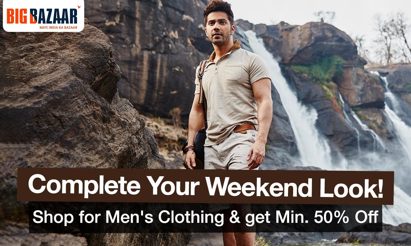Men Clothing Min 50% off