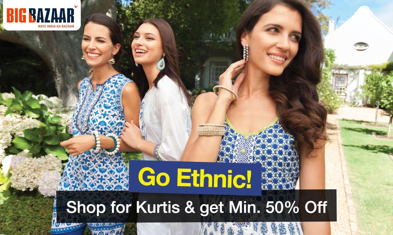 Ethnic Min. 50% off