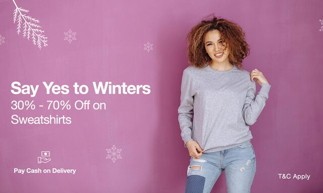 sweaters and Pullovers - 30-70% off  plus cashback