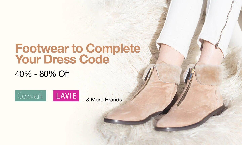 Women Footwear |40% to 80% off