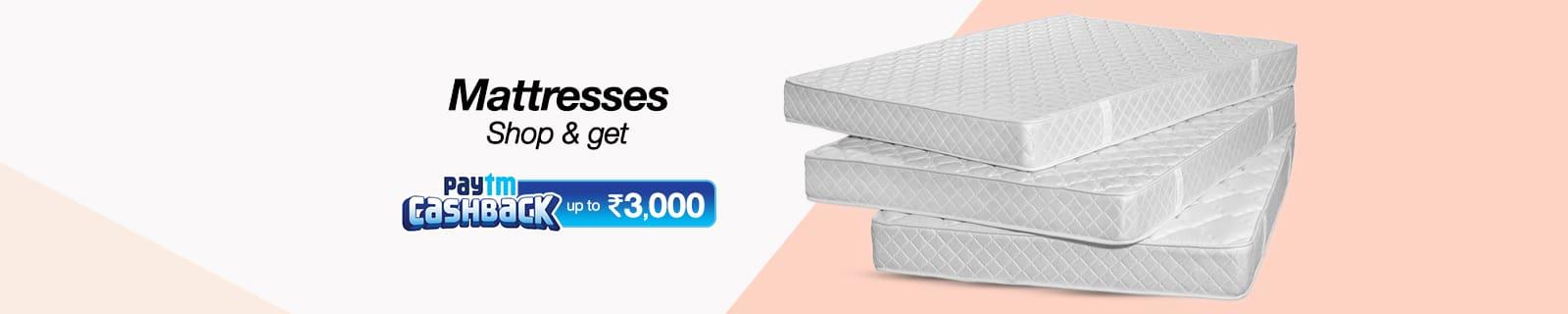 Mattress Flat 25% cashback