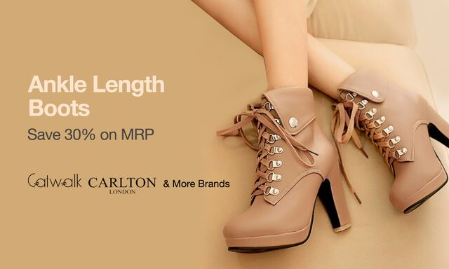 Women Boots|Save 30% On MRP