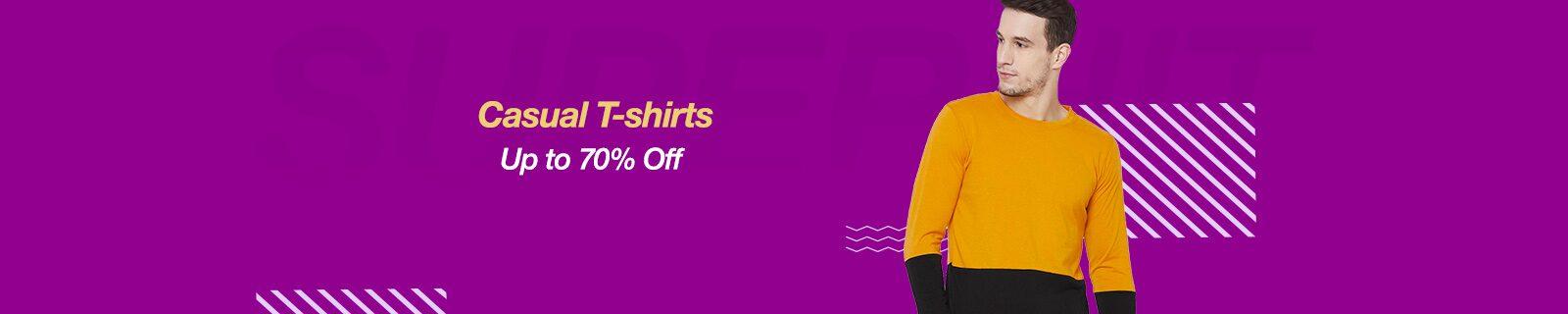 T-Shirts   Upto 70% Off