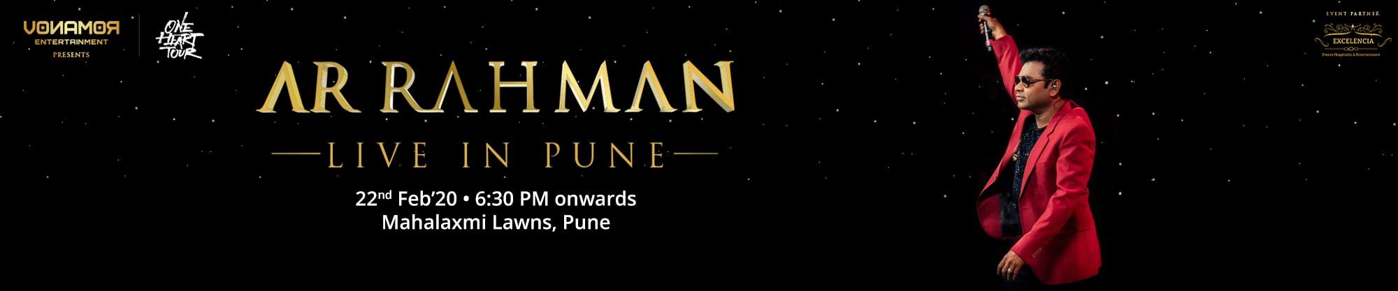 AR Rahman | Pune