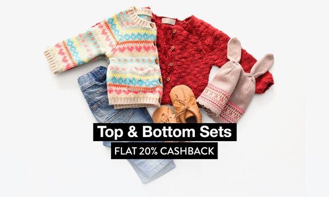 Mix n Match Sets - Tops & Bottoms at 20% CB