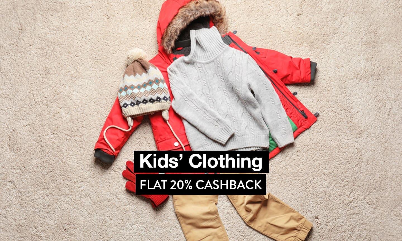 Kids Clothing - Flat 20% CB