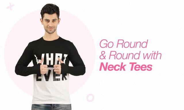 round neck tee