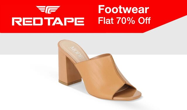 Red Tape Flat 70% off