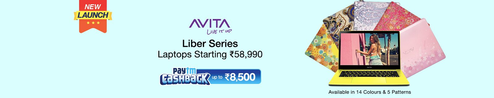 New Launch Avita Laptop
