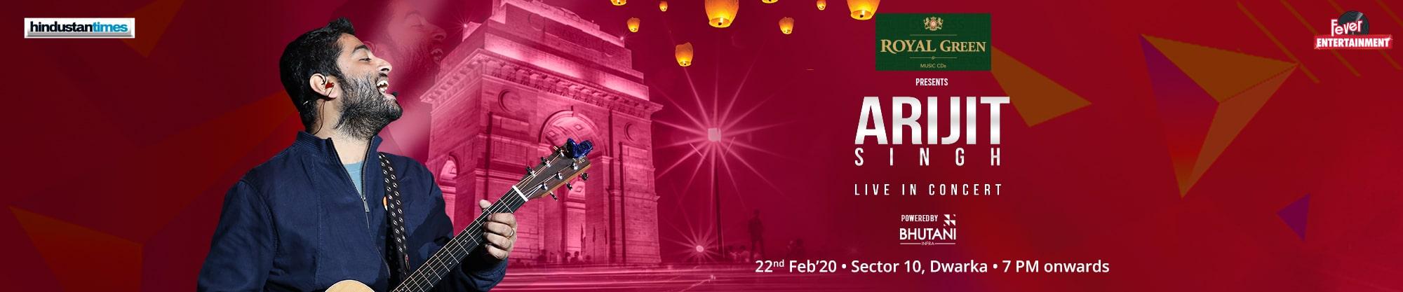 Arijit Singh | Delhi