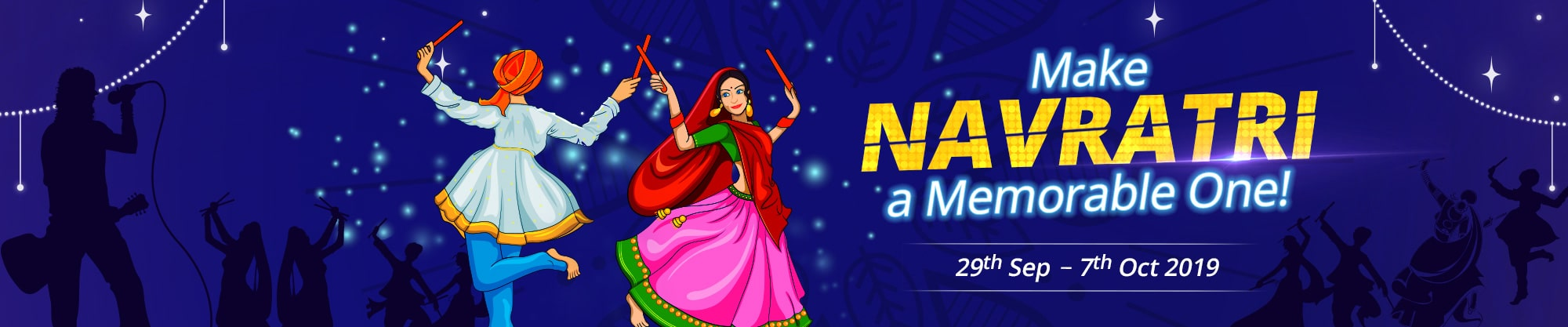Navratri Special | Book Now