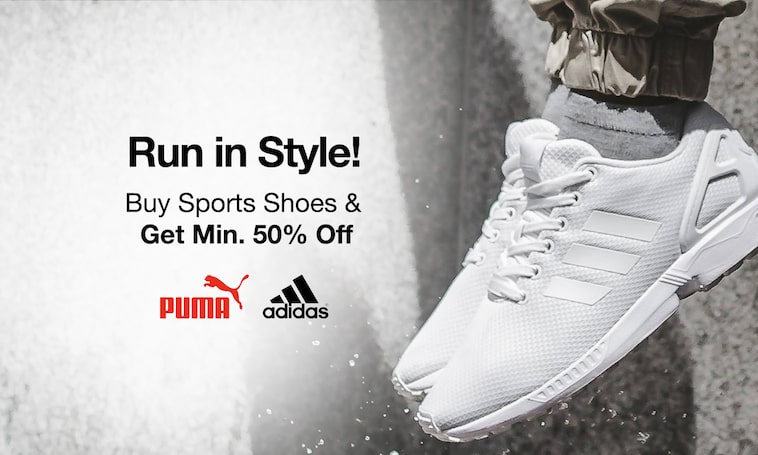 Sport Shoes | Min 50% Off