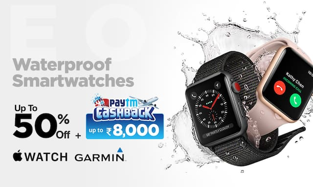 Smart watches| upto 50% Off