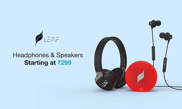 Leaf Headphones & Speakers